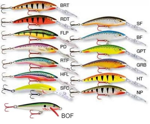 Rapala Deep Tail  Dancer -  - 022677147130 - 2
