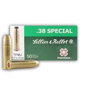 Sellier&Bellot .38 Special TFMJ 10,25g -  - 8590690311422 - 1