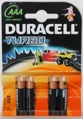 Duracell Turbo AAA -paristo -  - 5000394077102 - 1