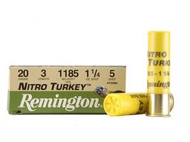 Remington Nitro Turkey 35g 10kpl 20/76 - Haulikon Patruunat - 047700503103 - 1
