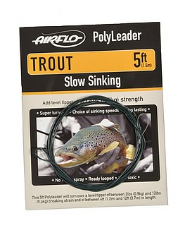 Airflo PolyLeader Trout 5' -  - 053163145255 - 1