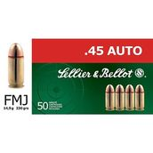 Sellier&Bellot .45 Auto FMJ 14,9g 230gr -  - 8590690311255 - 1