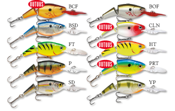 Rapala Jointed Shad Rap 7cm BCF -  - 022677155869 - 1
